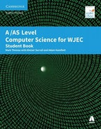 As Level Computer Science for Wjec Student Book
